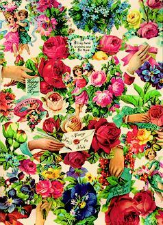 Victorian Floral Notebook  by  Grafton