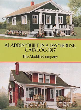 Aladdin Built in a Day House Catalog, 1917 Aladdin Company