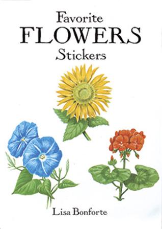 Favorite Flowers Stickers Lisa Bonforte