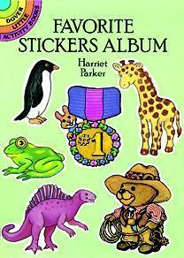 Favorite Stickers Album  by  Harriet Parker
