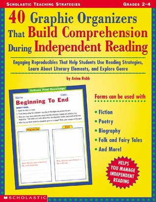 40 Graphic Organizers That Build Comprehension During Independent Reading  by  Anina Robb