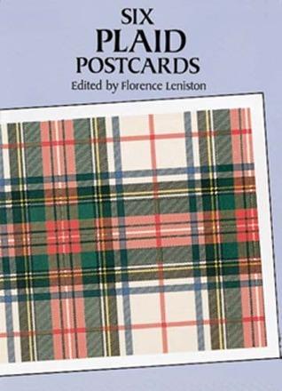 Six Plaid Postcards Florence Leniston