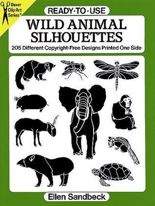 Ready-to-Use Wild Animal Silhouettes  by  Ellen Sandbeck
