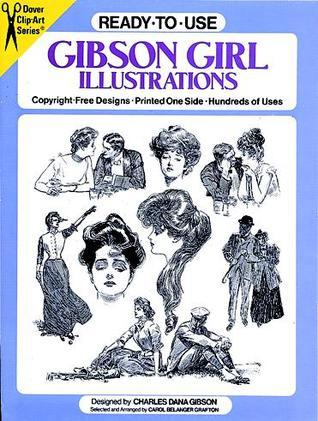 Ready-to-Use Gibson Girl Illustrations  by  Charles Dana Gibson