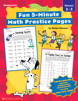 Fun 5-Minute Math Practice Pages: Grades 2-3  by  Denise Kiernan