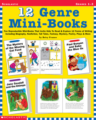 12 Genre Mini-Books: Fun Reproducible Mini-Books That Invite Kids To Read & Explore 12 Forms Of Writing Including Biography, Non-Fiction, Tall Tales, Fantasy, Mystery, Poetry, Plays & More  by  Betsy Franco