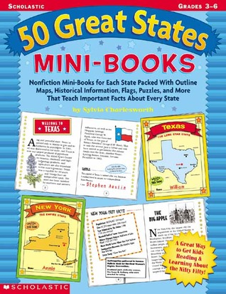 50 Great States Mini-books  by  Sylvia Charlesworth