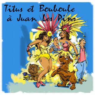 Titus et Bouboule à Juan les pins  by  Andréa Novick
