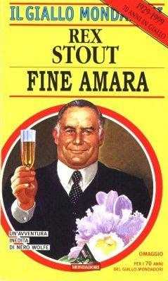 Fine amara  by  Rex Stout