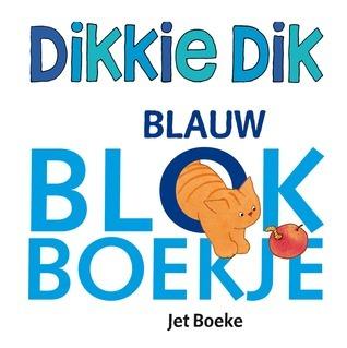 Dikkie Dik Blauw blokboekje Jet Boeke