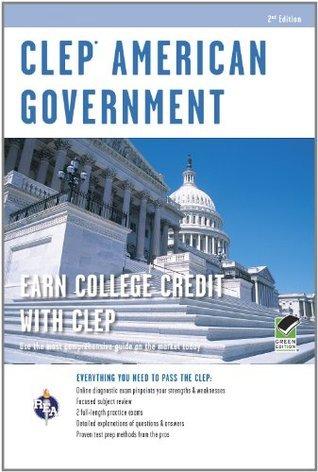 CLEP American Government w/ Online Practice Exams Preston Jones