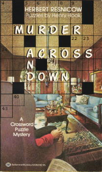 Murder Across and Down  by  Herbert Resnicow