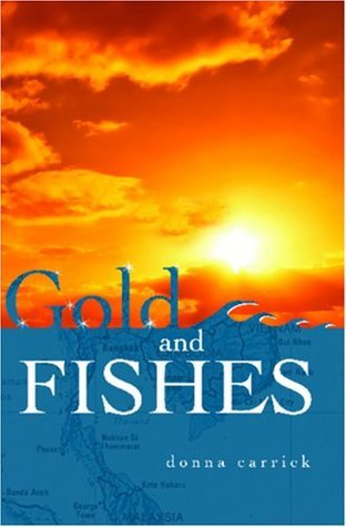 Gold And Fishes  by  Donna Carrick