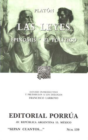 Las Leyes/Epinomis/El Político (Sepan Cuantos, #139)  by  Plato