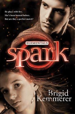 Spark (Elementals, #2)  by  Brigid Kemmerer