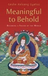 Meaningful to Behold: A Commentary to the Shantidevas Guide to the Bodhisattvas Way of Life Kelsang Gyatso