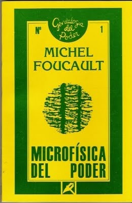 Microfísica del poder  by  Michel Foucault