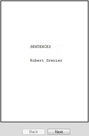Dusk Road Games: Poems 1960-66 Robert Grenier