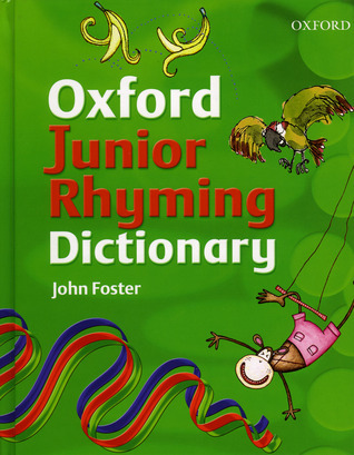 Barrons Junior Rhyming Dictionary John   Foster