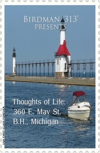 Thoughts of Life: 360 E. May St. B.H., Michigan  by  Birdman 313