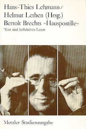 Bertolt Brechts Hauspostille  by  Bertolt Brecht