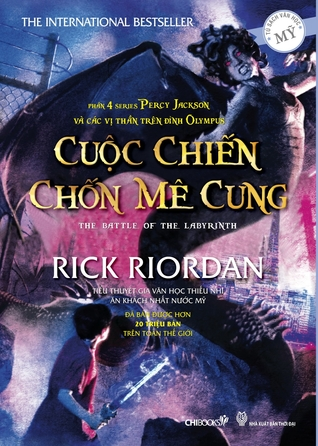 Cuộc Chiến Chốn Mê Cung (Percy Jackson Và Các Vị Thần Olympia, #4) Rick Riordan