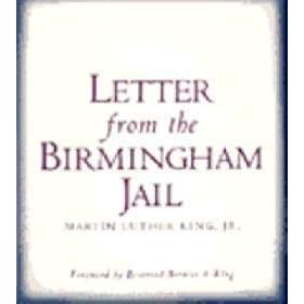 a letter from birmingham jail letter from the birmingham by martin luther king jr 45998