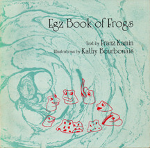 Egz Book of Frogs  by  Franz Kamin