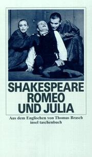 Romeo und Julia. William Shakespeare