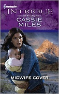 Midwife Cover Cassie Miles