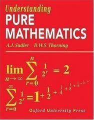 Understanding Pure Mathematics  by  A.J. Sadler