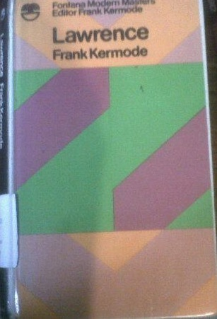 Lawrence  by  Frank Kermode