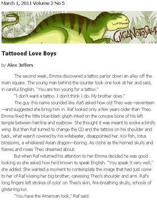 Tattooed Love Boys Alex Jeffers