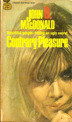 Contrary Pleasure John D. MacDonald