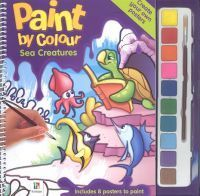 Paint  by  Colour- Sea Creatures by ws publishing