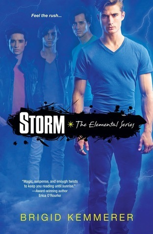 Storm (Elementals, #1)  by  Brigid Kemmerer