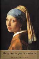 Mergina su perlo auskaru Tracy Chevalier
