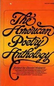 The American Poetry Anthology  by  Daniel Halpern