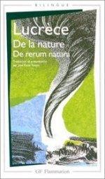 De la nature - de rerum natura  by  Titus Lucretius Carus