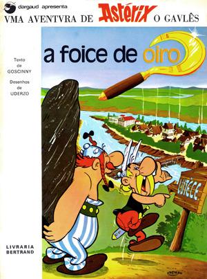 A Foice de Oiro  by  René Goscinny