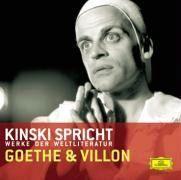 Kinski spricht Goethe und Villon Johann Wolfgang von Goethe