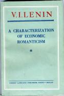 A Characterization of Economic Romanticism  by  Vladimir Ilich Lenin