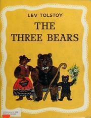 The Three Bears Leo Tolstoy
