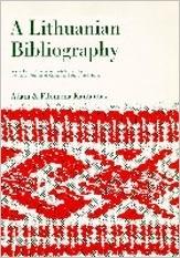 A Lithuanian Bibliography Adam Kantautas