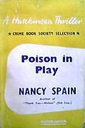 Poison in Play Nancy Spain