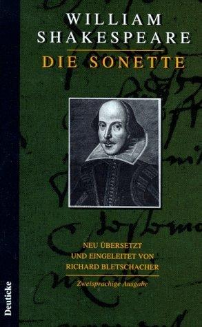 Die Sonette.  by  William Shakespeare