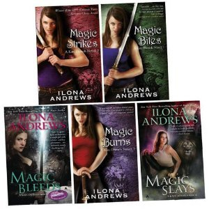 A Kate Daniels Magic Series Collection (Kate Daniels, #1-5)  by  Ilona Andrews