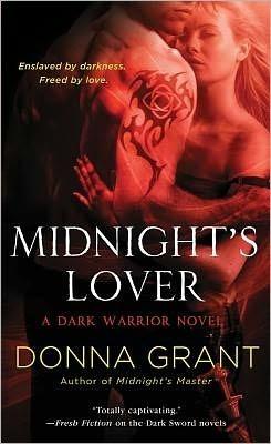 Midnights Lover (Dark Warriors, #2)  by  Donna Grant