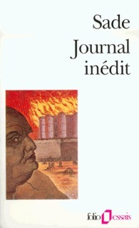 Journal inédit  by  Marquis de Sade
