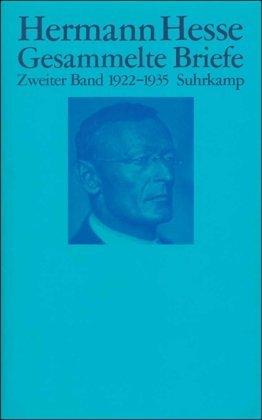 Gesammelte Briefe 1-4 Hermann Hesse